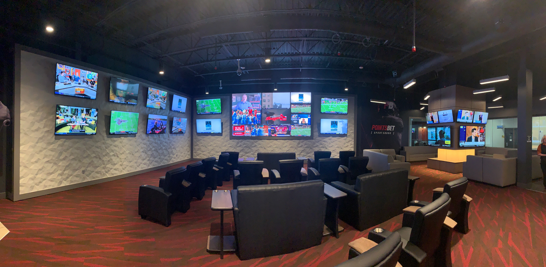 Pointsbet Sportsbook at Catfish Bend Casino
