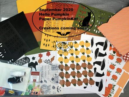 """Hello Pumpkin"" To Celebrate The Fall Season"