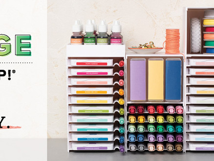 Organize Your Space Your Way Using Storage By Stampin' Up!