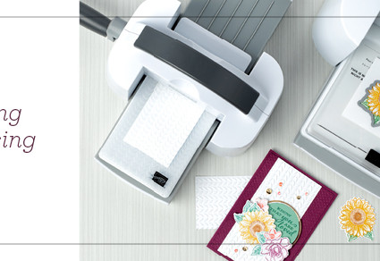 Stampin' Cut & Emboss Machine Available TOMORROW September 1, 2020!