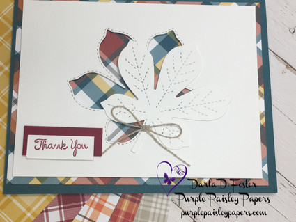"PLAID TIDINGS 6"" X 6"" DESIGNER SERIES PAPER ON SALE"
