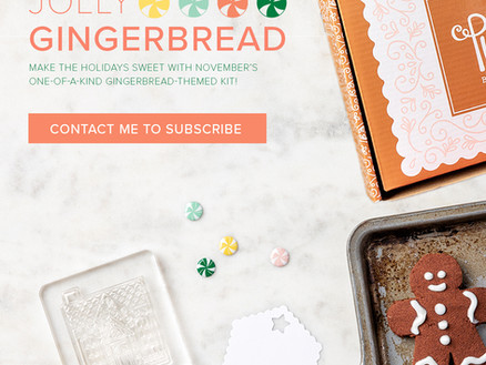 THE NOVEMBER 2020 PAPER PUMPKIN KIT is sure to Bake up Some Great Memories This Christmas!!!!