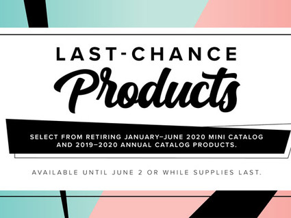 All Retiring Product will be gone soon!