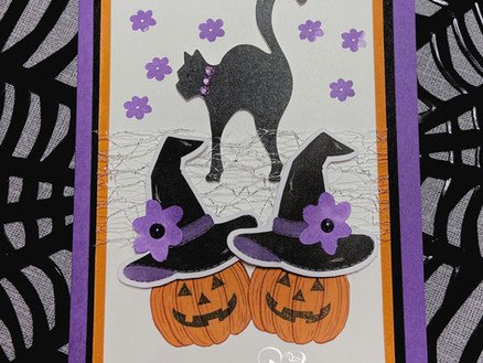 September's Paper Pumpkin Kit Alternatives! Hello Pumpkin!