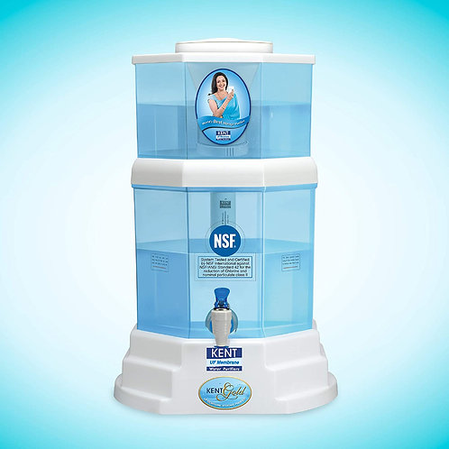 KENT Gold 20-Litres UF technology based Gravity Water Purifier CI-K-13