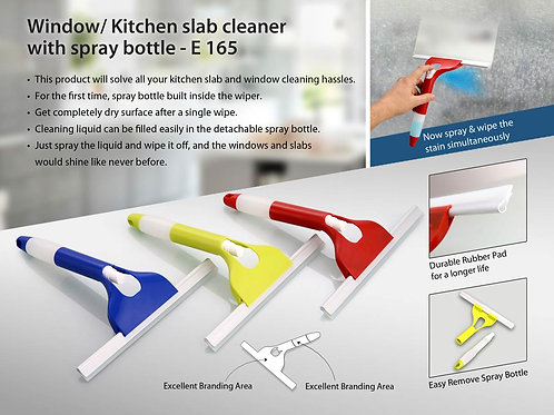 Window/ Kitchen slab cleaner with spray bottle E-165