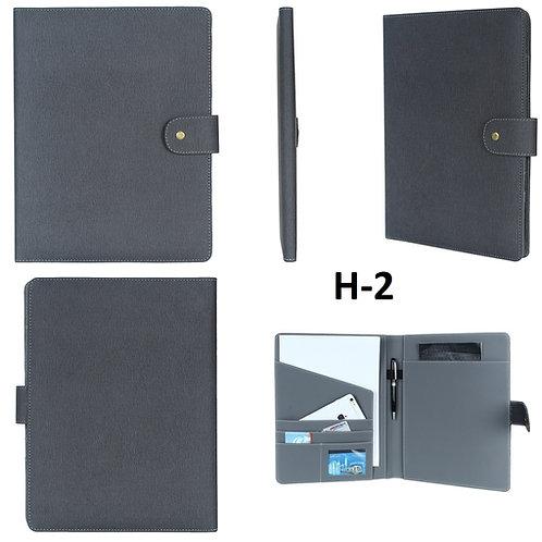 Conference Folder-Grey H-02