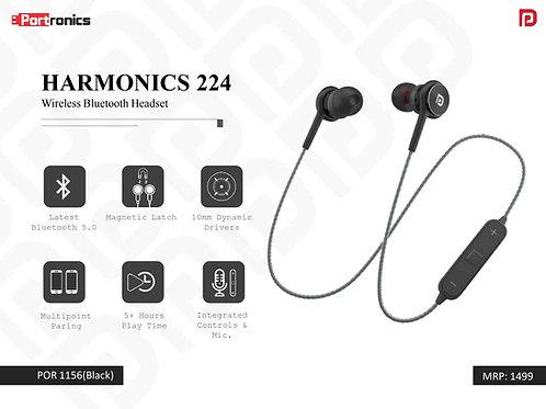 HARMONICS 224 Wireless Bluetooth Headset POR-1156