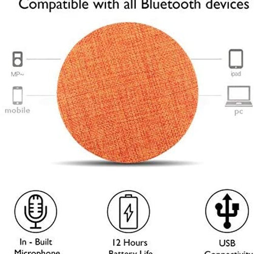 Callmate HDY-001 Portable Round Shaped Bluetooth Speaker CI-CM-18