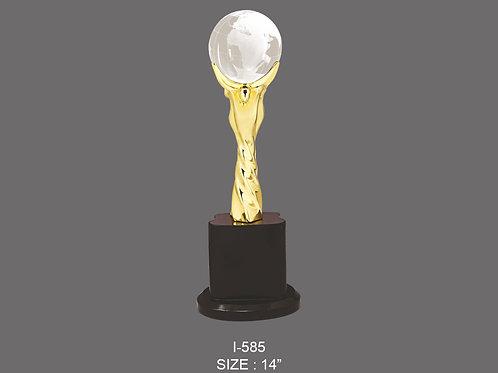 Metal Trophy I-585