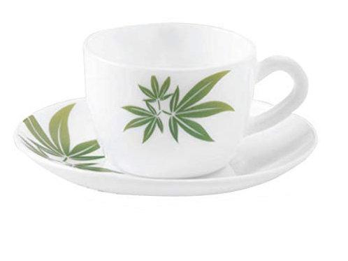 LaOpala Diva Trinty Green Cup Saucer CI-LO-28