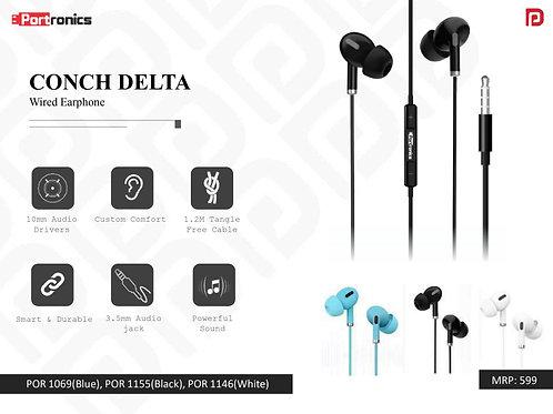 CONCH DELTA Wired Earphone POR-1155