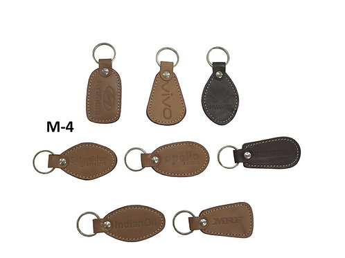Leather Key Ring GROUP OF 8 @6.25 M-04