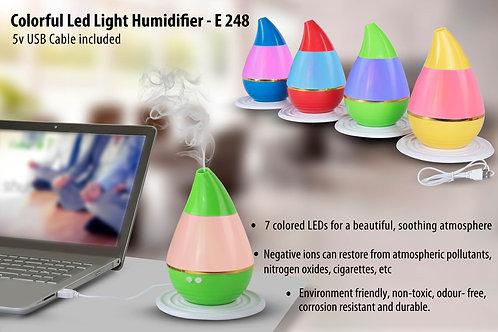 Colorful LED light Humidifier | 5v USB cable included E-248