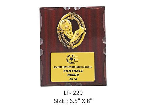 Wooden Trophy WD-LF229