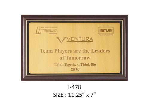 Wooden Trophy I-478
