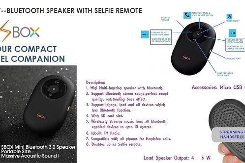 Bitmap SPEAKER WITH SELFIE REMOTE - S BOX GM-137