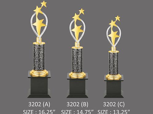 Metal Trophy MT-3202