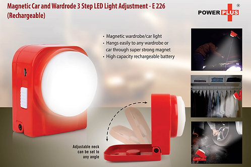 Magnetic Car and wardrode 3 step LED light (rechargeable) E-226