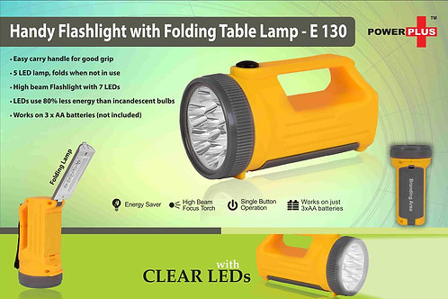 Handy Flashlight with Folding table lamp E-130