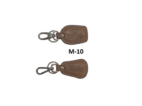 Leather Key Ring GROUP OF 2 @ 21 M-10