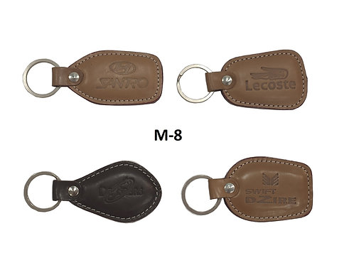Leather Key Ring GROUP OF 4 @8.50