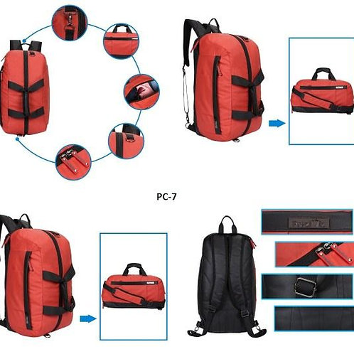 Backpack Duffle Convertor Red CI-PC-07