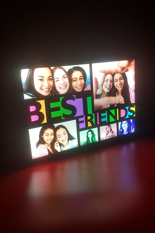 Personalised Small HD LED Stand Photo Frame CI- 93
