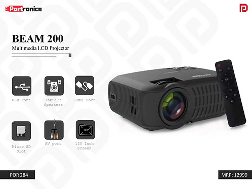 BEAM 200 Multimedia LCD Projector POR-284