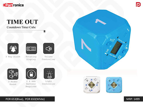 TIME OUT Countdown Timer Cube POR-653