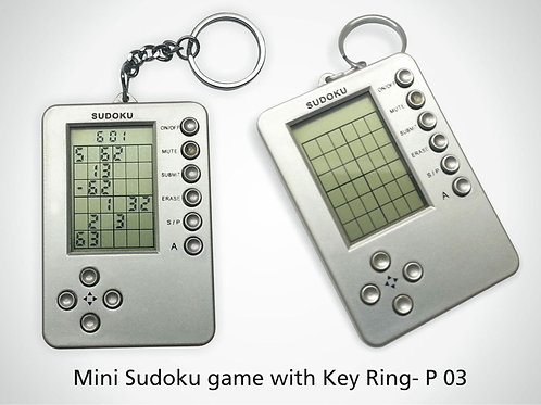 Mini Sudoku Game with Key Ring P-03