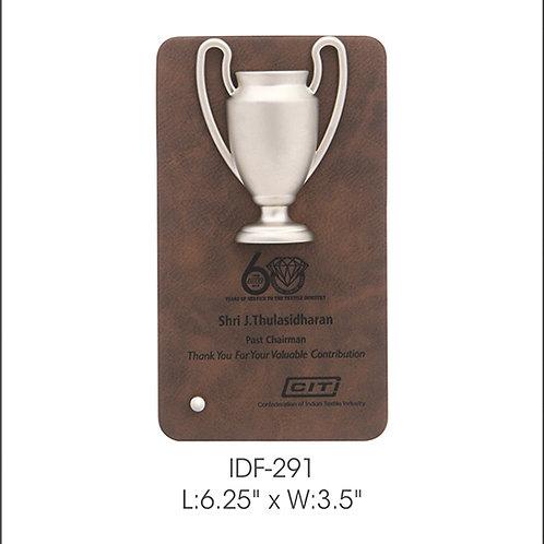 Wooden Trophy IDF -291