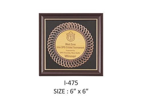 Wooden Trophy I-475