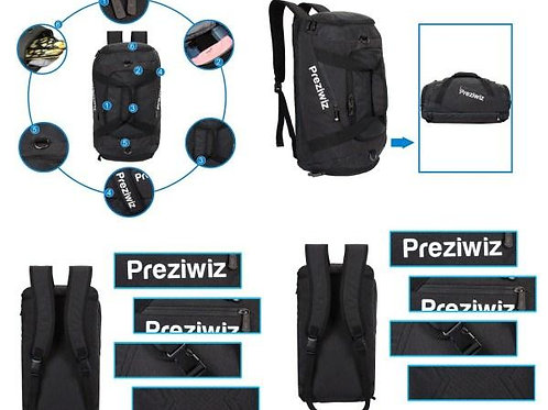 Backpack Duffle Convertor With Shoe Pocket  CI-PC-08