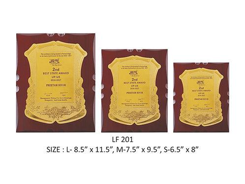 Wooden Trophy WD-LF201