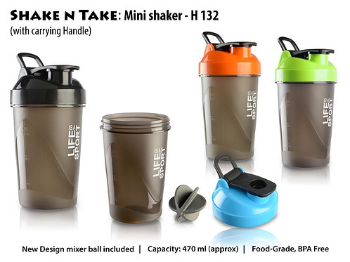 Shake n Take: Mini shaker with Handle (with box) H-132