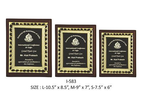 Wooden Trophy I-583