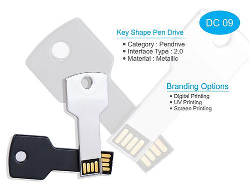 Key Shape Pen Drive DC-09