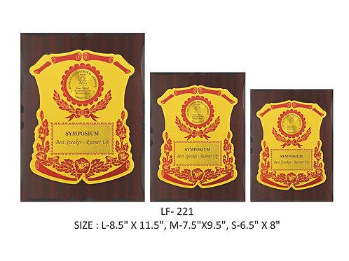 Wooden Trophy WD-LF221
