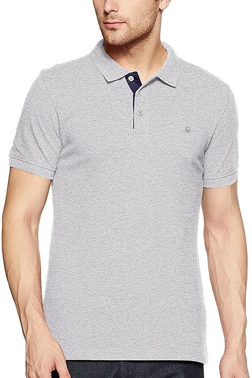 Benetton Mens Slub Polo T-Shirt CI-UCB-65