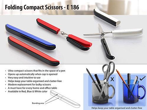 Folding Compact Scissors E-186