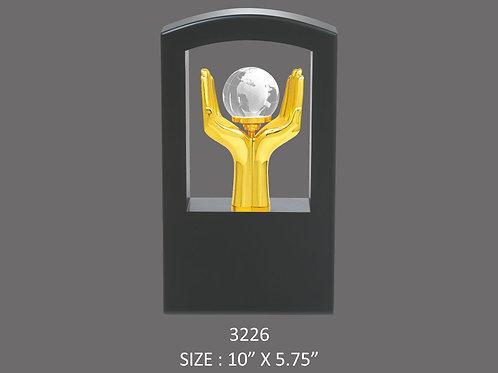 Metal Trophy MT-3226