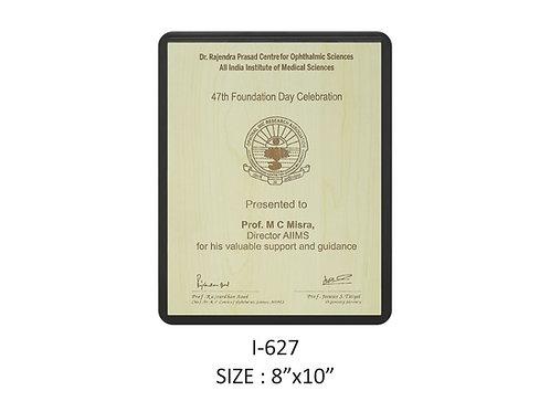 Wooden Trophy I-627