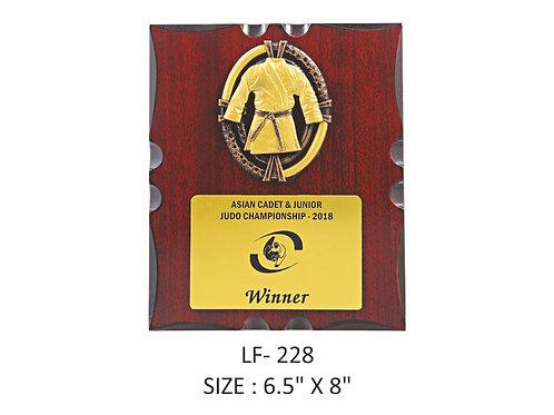 Wooden Trophy WD-LF228