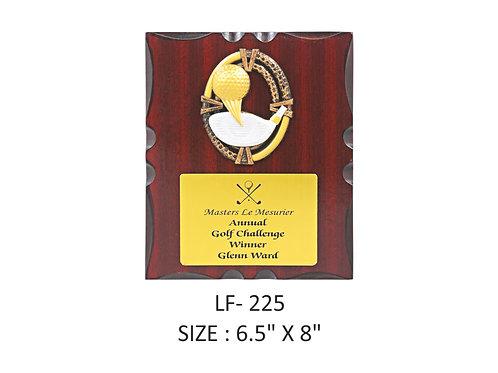 Wooden Trophy WD-LF225