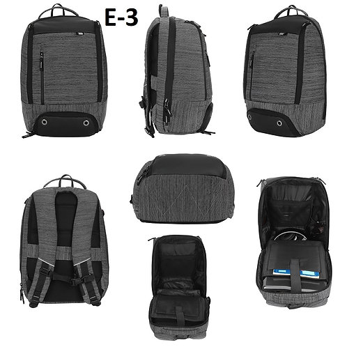Back Pack With Shoe Compartment E-03