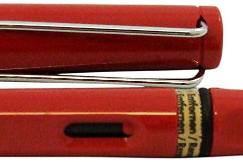 Lamy Safari Fountain Pen, Red Broad Nib CI-L-37