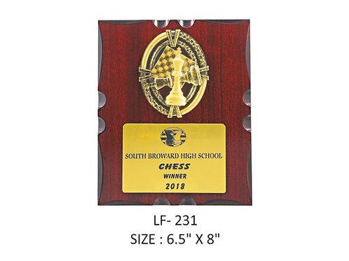 Wooden Trophy WD-LF231
