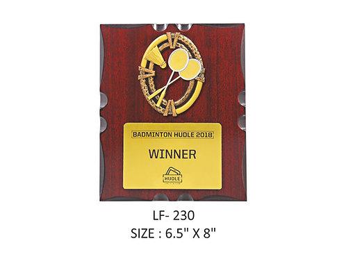 Wooden Trophy WD-LF230