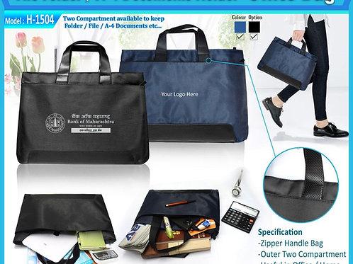 File Folder A4 Document Holder Office Bag CI-H-1504